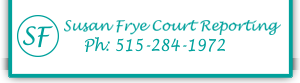 Image result for susan frye court reporting